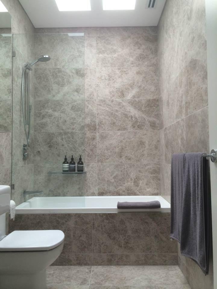 Mark Stubbs Construction & Interiors - Fitzroy Residence Marble Bathroom