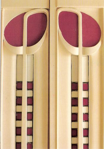 Detail of work by Charles Rennie Mackintosh