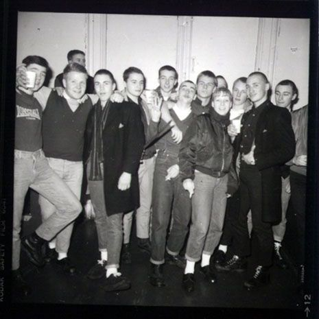 Paradiso, Amsterdam 1983 Skinheads & Herberts pic by Max Natkiel