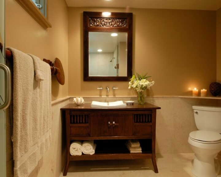 177 best Tropical bathrooms images on Pinterest Room, Outdoor - guest bathroom decorating ideas