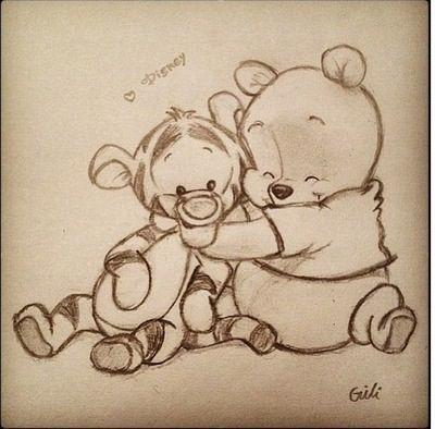 winnie the pooh :) zeichnungen, zeichnung, disney – Törtchen Bolte – Jessica Jahnke