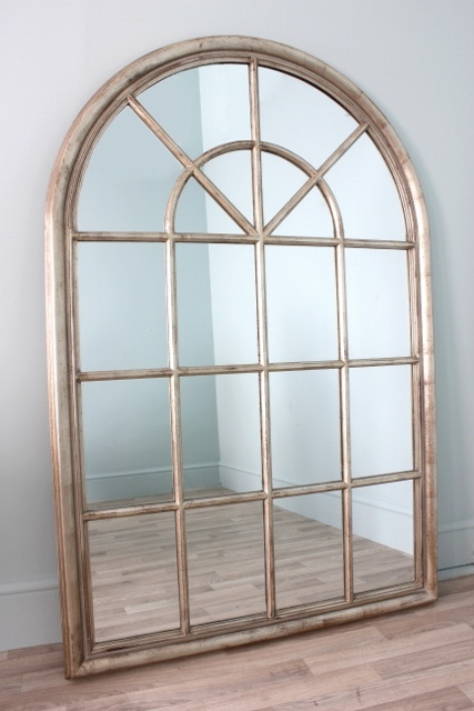 Vintage Arched Window Mirror Housey Ideas Pinterest