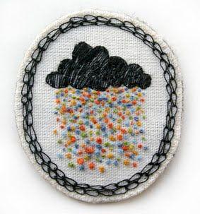 brooch: Brooche Idea, Embroidery, Mittens, Kittens