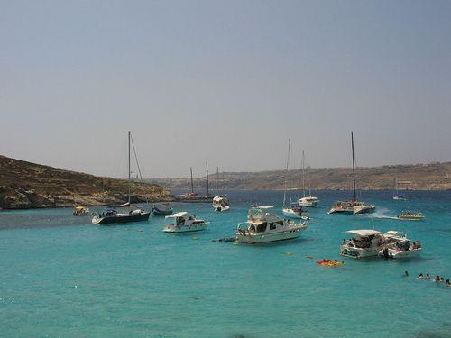 Malta Comino Blue Laggon by ramonbaile, via Flickr