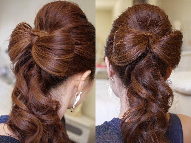 ❤ А вы научились делать бантик из своих волос? ❤