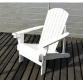 Found it at Wayfair - Outsunny Patio Adirondack Chair