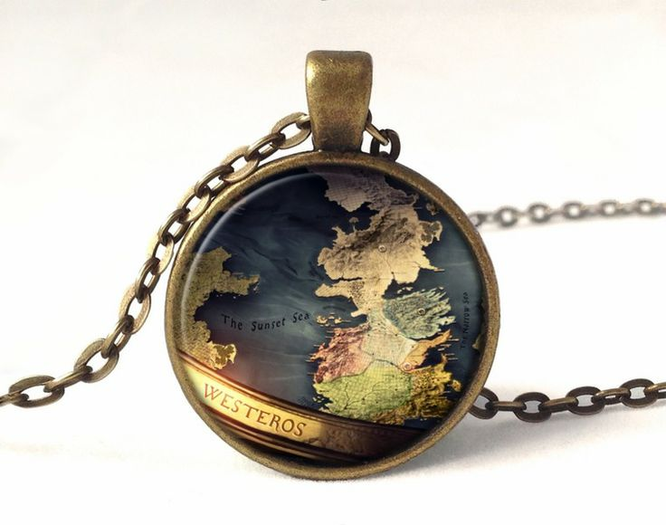 GAME OF THRONES Pendant, 0195PB from EgginEgg by DaWanda.com