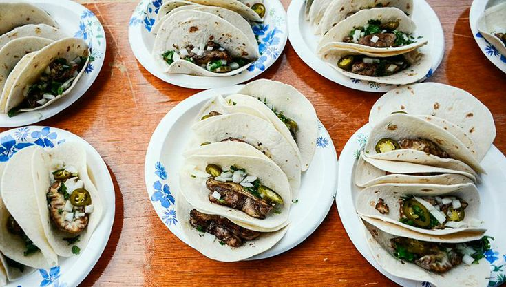 Veal Brain Tacos