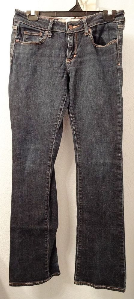ABERCROMBIE AND FITCH Jeans The A&F Boot 2R Women's Dark Wash Denim 26x33 #AbercrombieFitch #BootCut