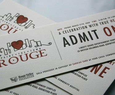 just so clever an elegant ticket design invitation