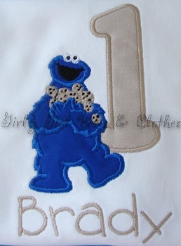 22 Best Images About Cookie Monster 1 Year Old Boy S
