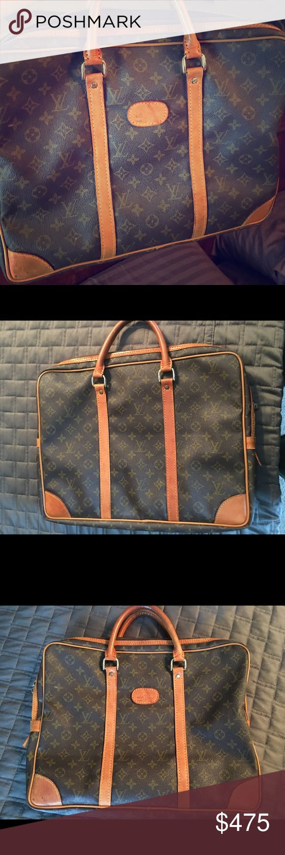 Louis Vuitton Bag. Authentic Beautiful Bag. Wonderful condition. Great buy. Louis Vuitton Bags Laptop Bags