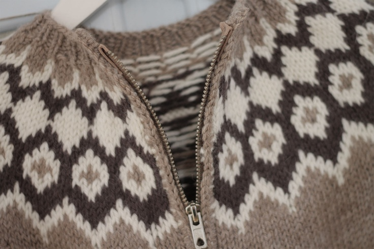 Childrens sweater for the Danish weather :)