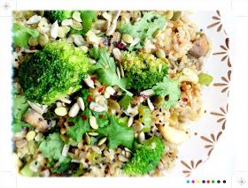 Ginger,Cashew & Vegetable Fried Rice from Dr Libby's Real Food Chef