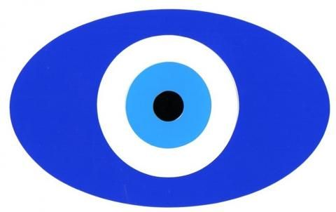 Evil eye protector Nazar Boncugu car sticker Turkish car decal | Hippy Motors car stickers vinyl decals transfers