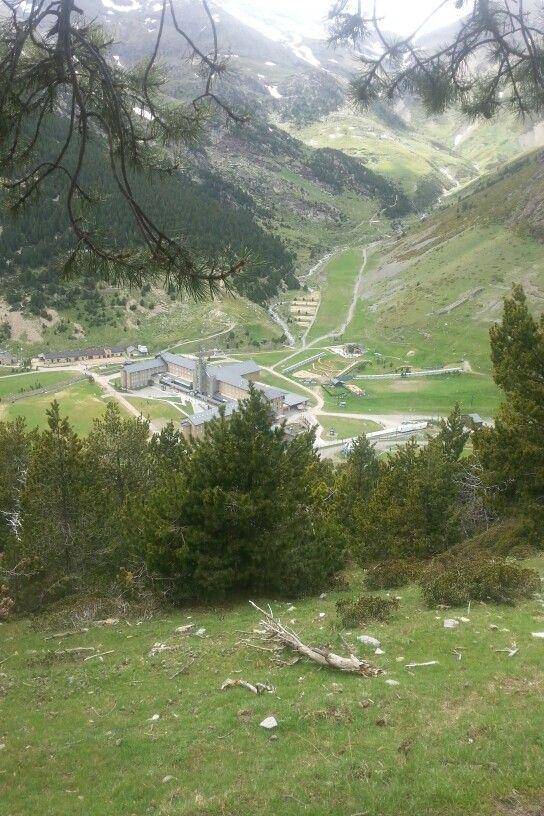 Vall de Núria des de el Camí del Bosc