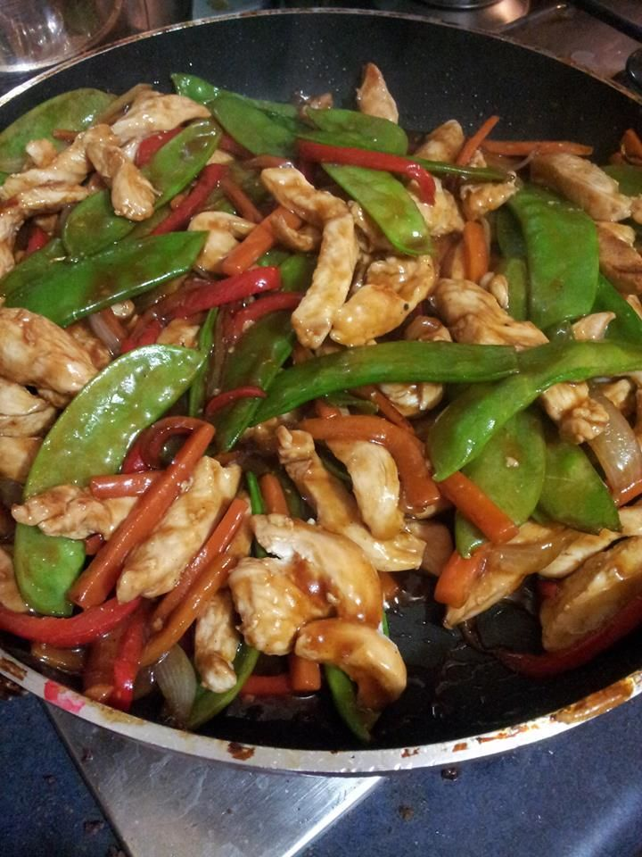 Hoisin Chicken Stir Fry Recipe Hoisin Chicken Stir Fry Recipes Chicken Recipes With Hoisin Sauce