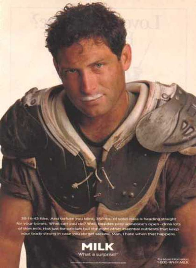 Steve Young - I would have considered converting to Morman in my younger days just to have a shot at him!! ;)