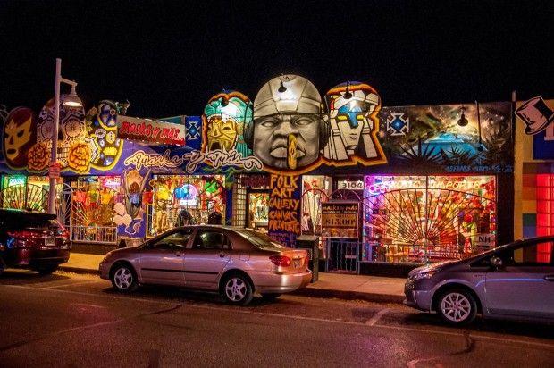 Exploring the funky Nob Hill neighborhood in Albuquerque, New Mexico