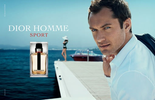 Jude Law for new Dior Homme Sport