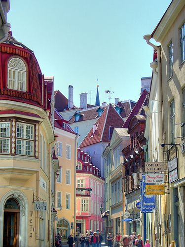 Old Town, Tallinn, Estonia This is such a beautiful place. I loved