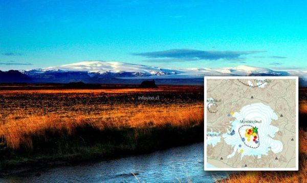 Después del terremoto, un fuerte olor a azufre que sale del agua ha descendido sobre la ciudad de Vík, situada en las estribaciones del glaciar. El volcán subglacial Katla en Islandia fue golpeado por un temblor superficial M4.5 – el terremoto más grande desde 1977 – el 26 de julio...
