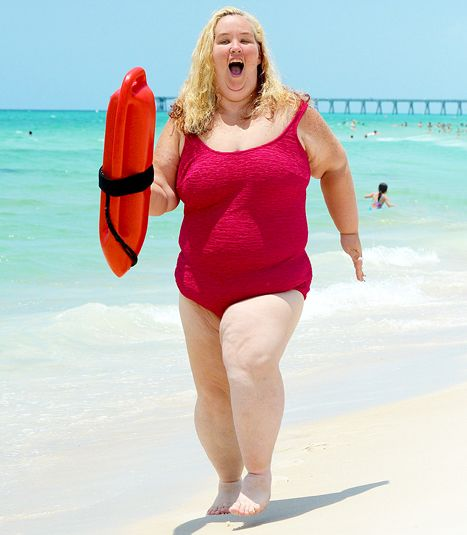 Mama June Shows Off Impressive Weight Loss in Red Swimsuit: PICS - Us Weekly