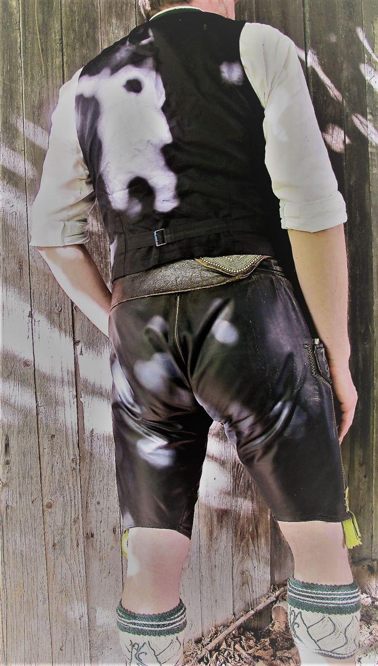 alpinm nner men 39 s traditional leather trousers lederhosen pinterest. Black Bedroom Furniture Sets. Home Design Ideas