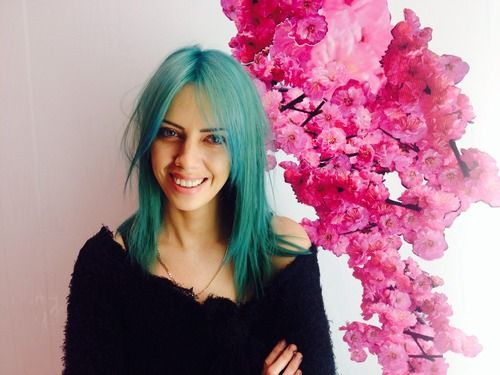 dark green hair turquoise without bleach bleachlondon update on bleach s training manager grace s