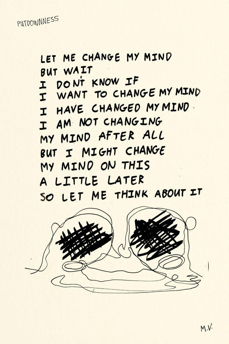 Putdownness 27 May 2015: Changing Minds