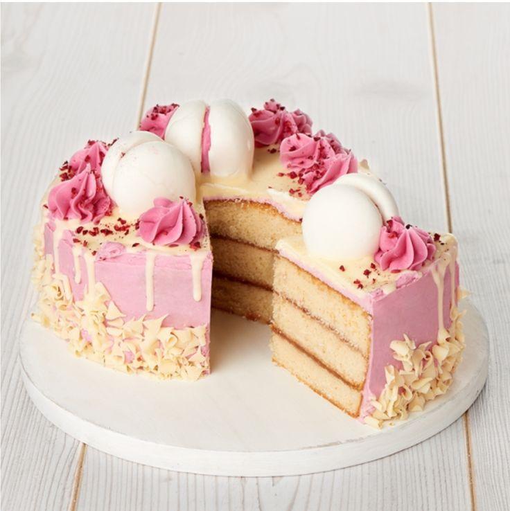 Sainsbury's raspberry dribble cake Cakesmash cakes