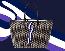 """""""Maison Goyard is delighted to present """"Bannière"""", its new Millésime marquage design for 2017…"""""""