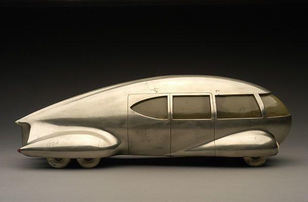 Norman Bel Geddes, Motor Car No. 8, ca. 1932. Courtesy Norman Bel Geddes Papers, Ransom Center, UT Austin