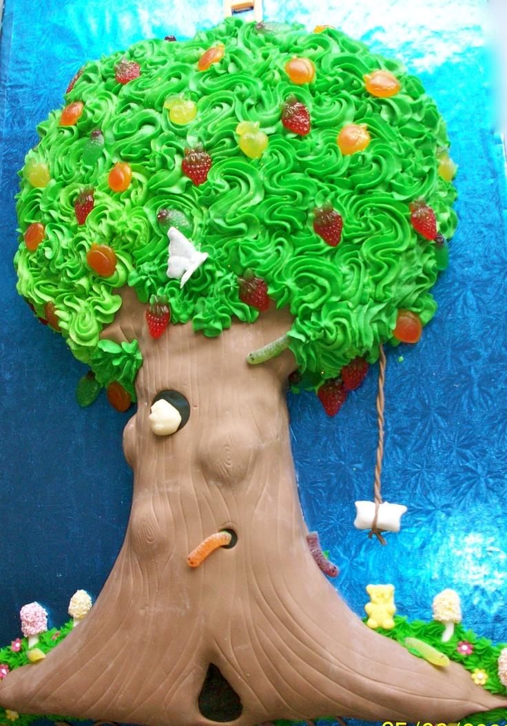 """My version of the """"Enchanted Tree"""" from my favourite Enid Blyton series. Made for my daughters year 3 class who were having an """"Enchanted Tree"""" party."""