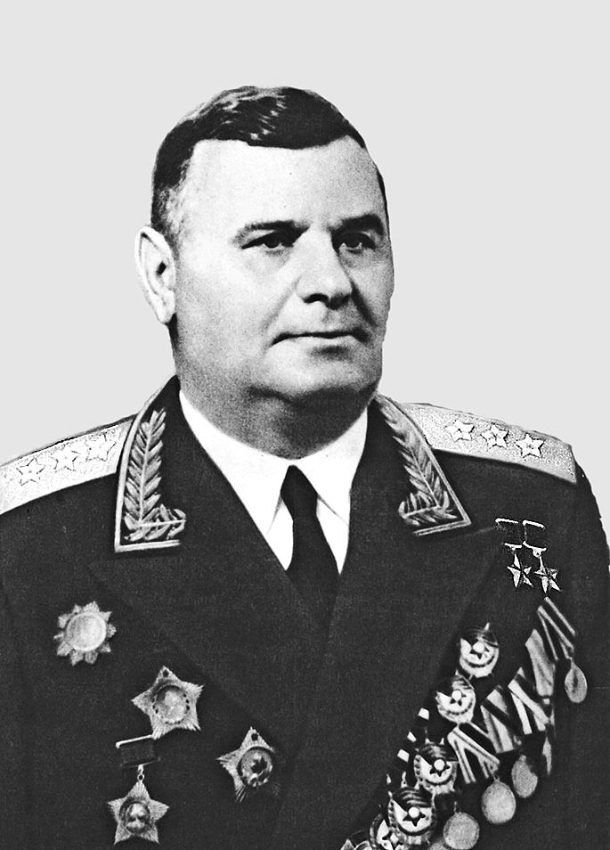 Colonel-General Kravchenko Andrey Grigorievich (18 Nov 1899 - 18 Oct 1963) the participant of the Great Patriotic war (WWII in Russia), twice hero of the Soviet Union. The commander of the 2nd and 4th Tank Corps, the 5th Guards Tank Corps, the 6th Tank Army.