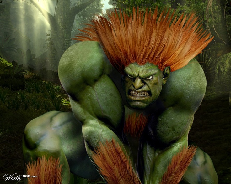Blanka (Street Fighter) by ivanildo  4th place entry in Atareality 7