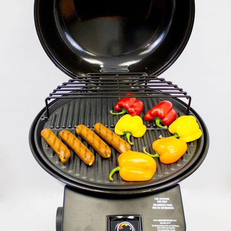 Buy Brinkmann Electric Patio BBQ Grill Barbeque Outdoors In Black 24 In.