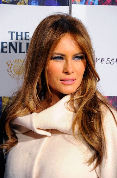 Melania Trump (Donald Trump's wife) - 9th Annual Dressed To Kilt Charity Fashion Show - Arrivals