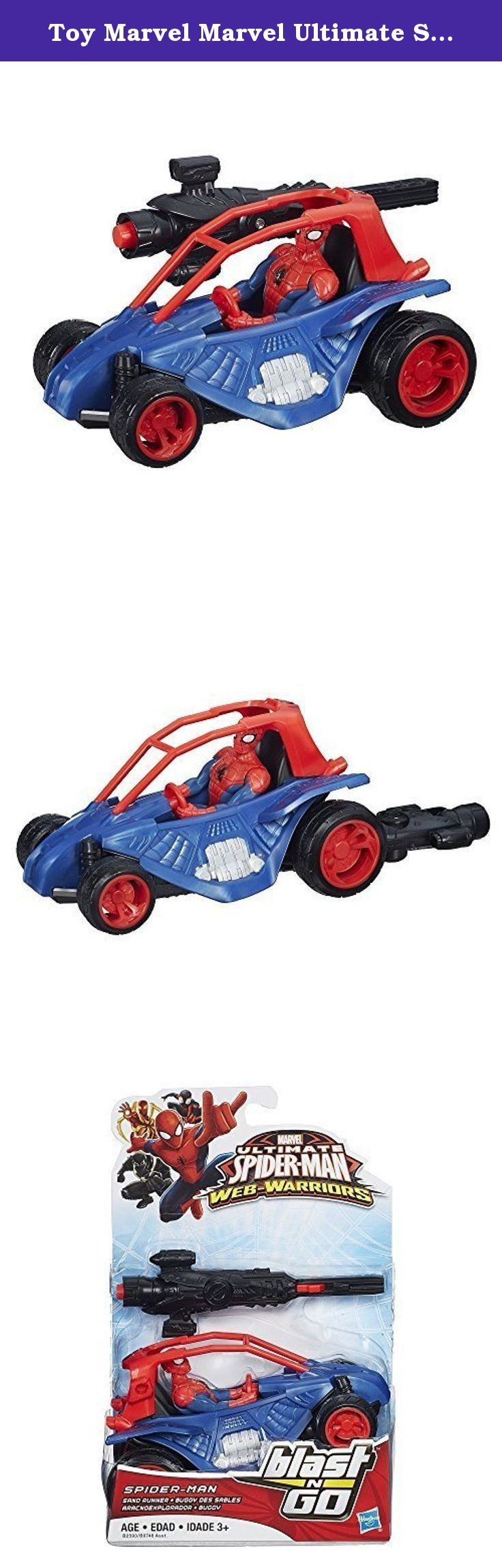 Toy Marvel Marvel Ultimate Spider-Man Spider-Man Web Warriors Blast 'N Go Racers Sand Runner Hobby figure toy model [parallel import goods]. It's shipped off from Japan.