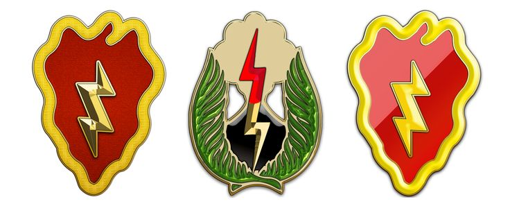 """25th Infantry Division    The 25th Infantry Division (nicknamed """"Tropic Lightning"""", """"ElectricStrawberry"""", and the Củ Chi National Guard during the Vietnam War) is a U.S. Army division based in Hawaii. The division, which was activated on 1 October 1941 in Hawaii, conducts military operations in the Asia-Pacific region. Its present deployment is composed of Stryker, light infantry, airborne, and aviation units. The 25th Division was formed from the 27th and 35th Infantry regiments of the…"""