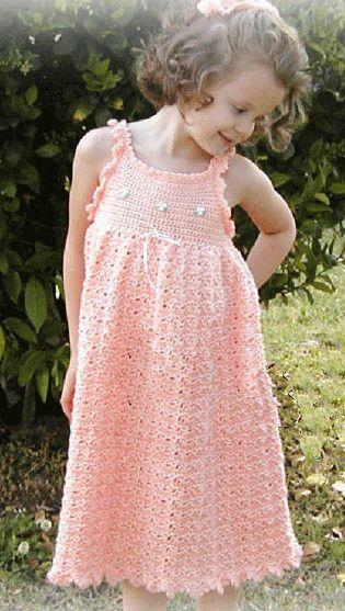 Maggie's Crochet · Little Maiden Sundress Crochet Pattern Download