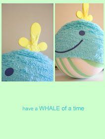 handmade piñatas!: Whale Piñata