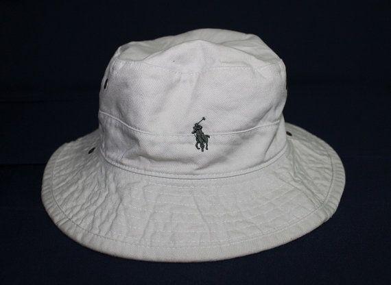 Vintage Polo Ralph Lauren Bucket Hat Sportsman