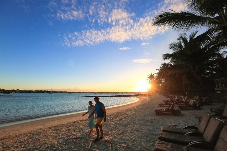 Le Mauricia - amazing sunsets with you newlywed #romantic #honeymoon #travel