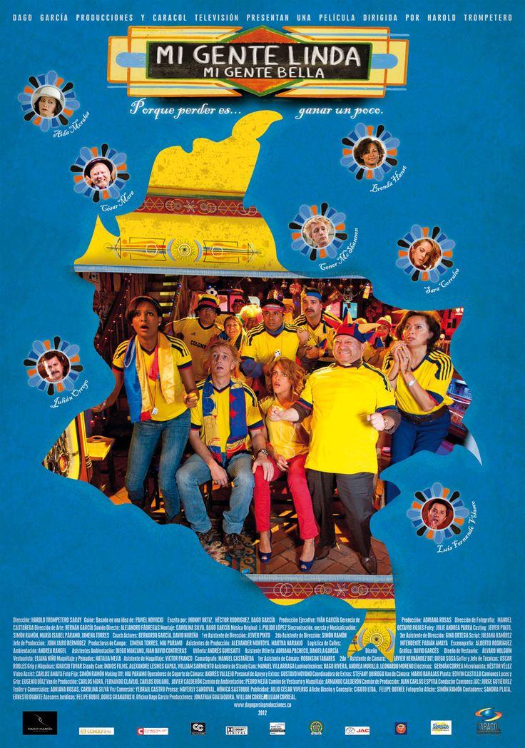 Estreno. 08 de junio // Dir: Harold Trompetero // Diseño Póster // http://cinefilosradio.blogspot.com/ / #CineColombiano #CinéfilosRadio