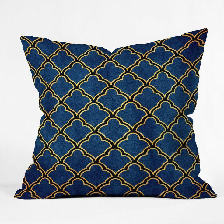 Arcturus Quatrefoil Outdoor Throw Pillow | DENY Designs Home Accessories