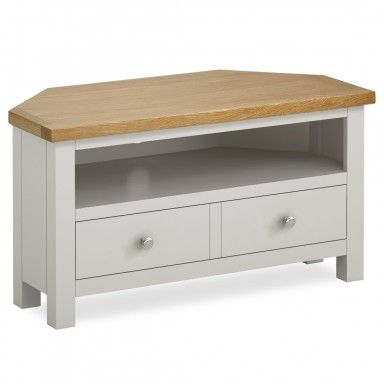 Cotswold Painted Corner TV Stand