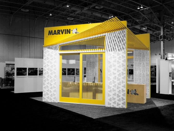 D Printing Exhibition Toronto : Marvin windows and doors canada booth by arc co design