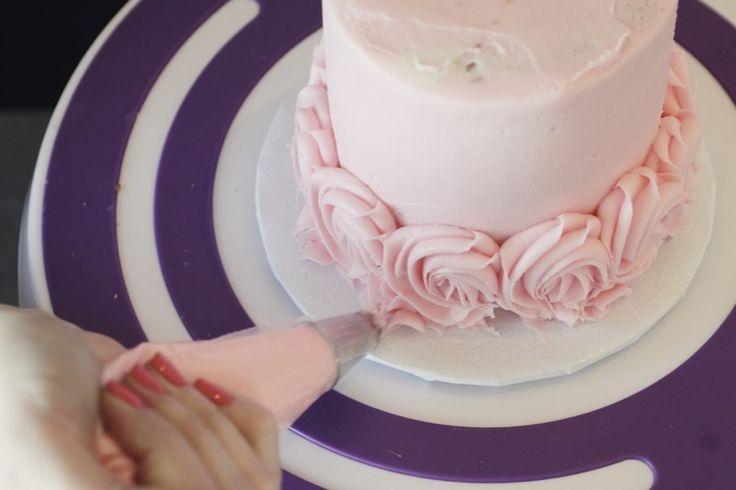 How Frost a Rose Cake | Relish.com