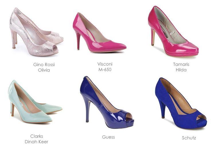 Moje propozycje butów do sukni ślubnej